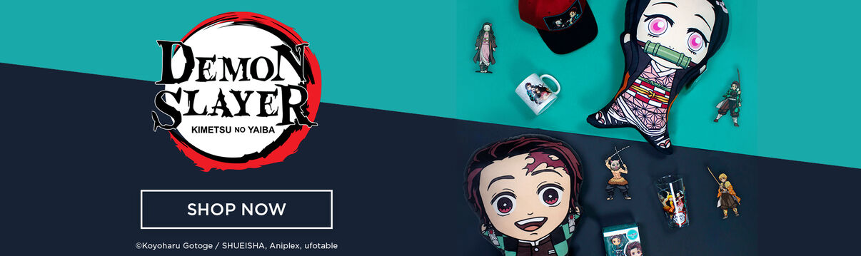 Shop Demon Slayer Plush, Collectibles, Blankets, Hats, Cups and more