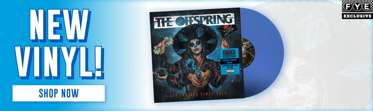 The Offspring - Let The Bad Times Roll Exclusive Blue Vinyl - Shop Now!