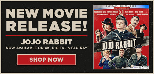 New Release: Jojo Rabbit - Now Available on 4K UHD and Blu-ray