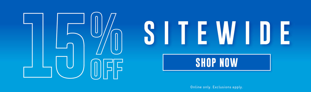 Sitewide Sale: 15% off everything - Shop Now!