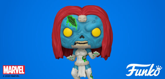 New Funko Pop Zombie Mystique By Marvel - Shop Now!