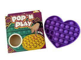 Pop'N Play Waffle Pops Sensory Fidget Toy - Purple Heart