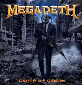Megadeth - Death By Design [Exclusive Transparent 4LP Vinyl & Leather Bound Slip Case]
