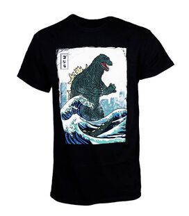 Godzilla Great Wave Off Kanagawa T-Shirt